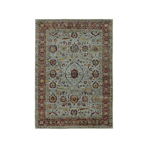 Andorra Blue Rectangular: 7 Ft. 10-Inch x 10 Ft. 10-Inch  Rug