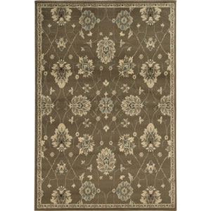 Brentwood Brown Rectangular: 9 Ft. 10-Inch x 12 Ft. 10-Inch  Rug
