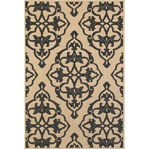 Cayman Sand Rectangular: 1 Ft. 10-Inch x 3 Ft. 3-Inch  Rug
