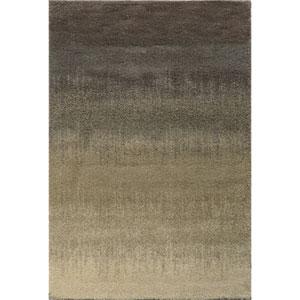 Covington Gray and Beige Rectangular: 3 Ft. x 5 Ft. Rug