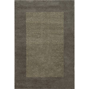 Covington Gray and Beige Rectangular: 6 Ft. x 9 Ft. Rug