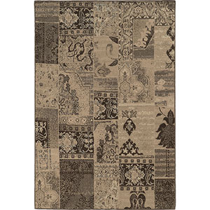 Chloe Brown Runner: 1 Ft. 10-Inch x 7 Ft. 6-Inch