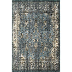 Empire Blue Rectangular: 6 Ft. 7-Inch x 9 Ft. 6-Inch  Rug