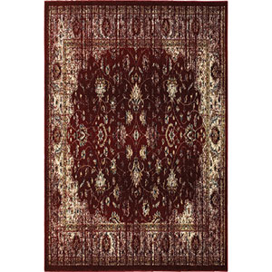 Empire Red Rectangular: 9 Ft. 10-Inch x 12 Ft. 10-Inch  Rug