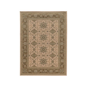 Foundry Beige Rectangular: 3 Ft. 10-Inch x 5 Ft. 5-Inch  Rug