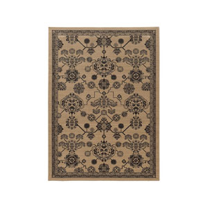 Foundry Beige Rectangular: 6 Ft. 7-Inch x 9 Ft. 6-Inch  Rug