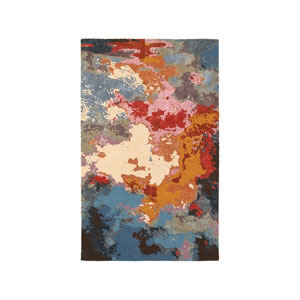 Galaxy Multicolor Rectangular: 5 Ft. x 8 Ft.  Rug