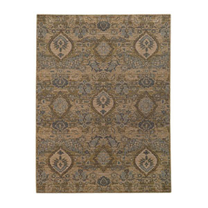 Heritage Ivory and Blue Rectangular: 2 Ft. x 3 Ft. Rug