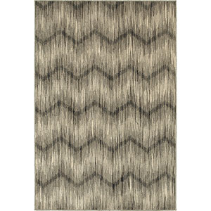 Highlands Gray and Ivory Rectangular: 2 Ft. x 3 Ft. Rug