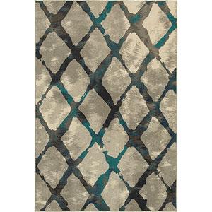 Highlands Gray Rectangular: 1 Ft. 10-Inch x 3 Ft.  Rug