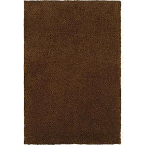 Heavenly Brown Rectangular: 5 Ft. x 8 Ft. Rug