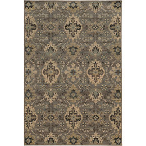 Heritage Blue and Ivory Rectangular: 2 Ft. x 3 Ft. Rug