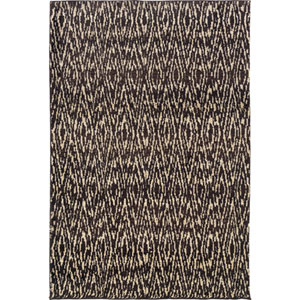 Marrakesh Brown and Ivory Rectangular: 4 Ft. x 6 Ft. Rug