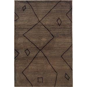 Marrakesh Brown Rectangular: 4 Ft. x 6 Ft. Rug