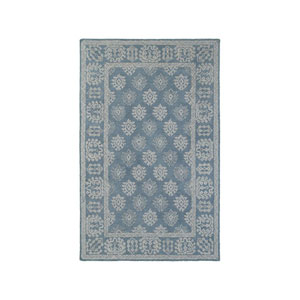 Manor Blue Runner: 2 Ft. 6-Inch x 8 Ft.