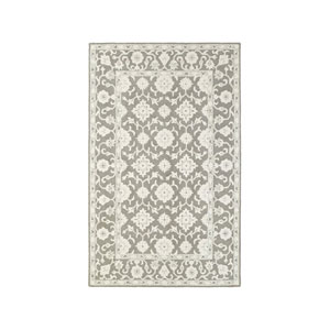 Manor Gray Runner: 2 Ft. 6-Inch x 8 Ft.