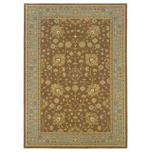 Nadira Blue Rectangular: 5 ft. 7 in. x 7 ft. 1 in. Rug