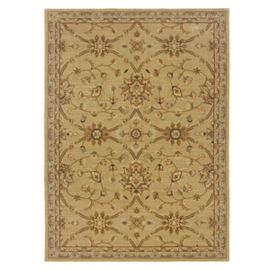 Nadira Green Rectangular: 5 ft. 7 in. x 7 ft. 1 in. Rug