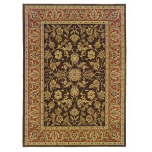 Nadira Rust Rectangular: 5 ft. 7 in. x 7 ft. 1 in. Rug