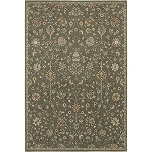 Pasha Gray Rectangular: 1 Ft. 10-Inch x 3 Ft.  Rug