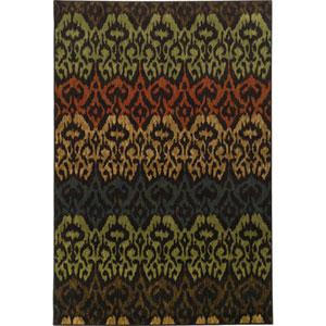 Parker Multicolor Rectangular: 2 Ft. x 3 Ft. Rug