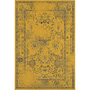 Revival Gold Rectangular: 5 Ft. 3-Inch x 7 Ft. 6-Inch  Rug