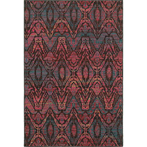 Revival Brown Rectangular: 5 Ft. 3-Inch x 7 Ft. 6-Inch  Rug