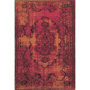 Revival Pink Rectangular: 5 Ft. 3-Inch x 7 Ft. 6-Inch  Rug