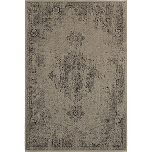 Revival Gray Rectangular: 1 Ft. 10-Inch x 3 Ft. 3-Inch  Rug