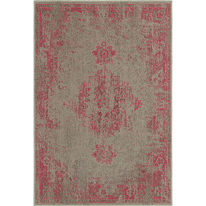 Revival Gray Rectangular: 5 Ft. 3-Inch x 7 Ft. 6-Inch  Rug