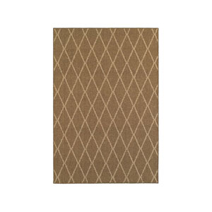 Santa Rosa Brown Runner: 1 Ft. 10-Inch x 7 Ft. 6-Inch