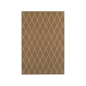 Santa Rosa Brown Rectangular: 7 Ft. 10-Inch x 10 Ft. 10-Inch  Rug