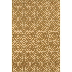 Stratton Gold and Ivory Rectangular: 3 Ft. x 5 Ft. Rug