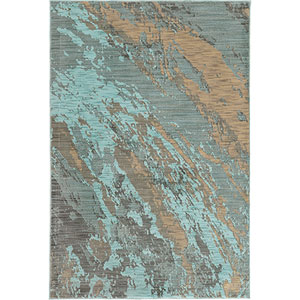 Sedona Blue Rectangular: 1 Ft. 10-Inch x 3 Ft.  Rug