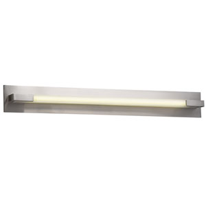 Polis Satin Nickel 39-Inch LED Vanity
