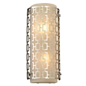 Ethen Polished Chrome Two-Light Wall Sconce