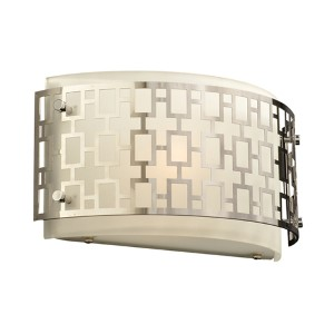 Ethen Polished Chrome One-Light Wall Sconce
