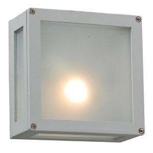 Bandero Silver One-Light Outdoor Wall Mount Fixture