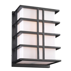 Amore Two-Light Bronze Outdoor Wall Light