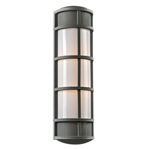 Olsay Bronze 8-Inch One-Light Outdoor Wall Sconce