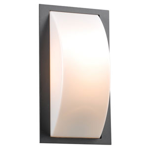 Breda One-Light Bronze Outdoor Wall Light