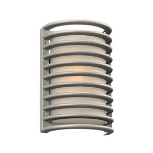 Sunset Silver 7-Inch LED Outdoor Wall Sconce