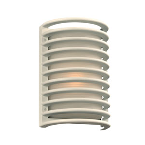 Sunset White 7-Inch LED Outdoor Wall Sconce