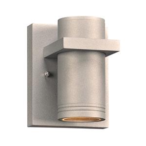 Boardwalk-I Silver 4-Inch LED Outdoor Wall Lantern