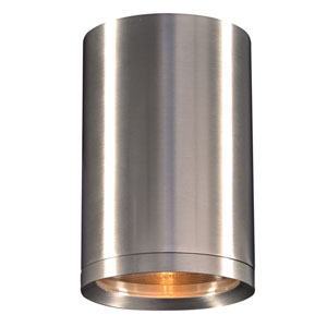 Marco Brushed Aluminum 8-Inch LED Outdoor Wall Lantern