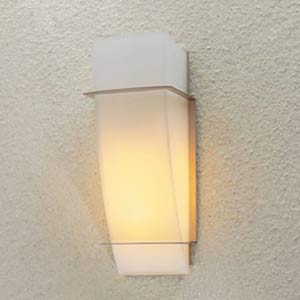 Enzo I Satin Nickel Wall Sconce