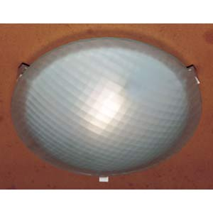 Nuova Polished Brass Extra Large Flush Mount Ceiling Light