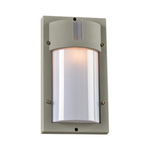 JEDI Silver 7-Inch One-Light Outdoor Wall Lantern