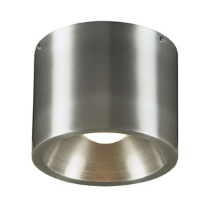 Downlight Silver 8-Inch LED Outdoor Flush Mount