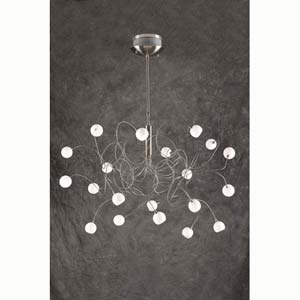 Fusion Twenty-Light Chandelier
